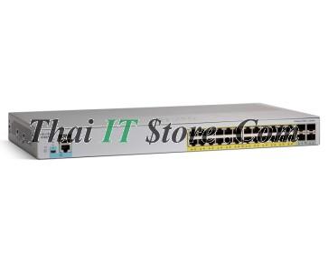 [WS-C2960L-24TQ-LL] Cisco Catalyst 24 port 10/100/1000 Ethernet ports, 4 x 10G SFP+ LAN Lite