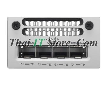 Catalyst 3850 4 x Gigabit Ethernet / 4 x 10 Gigabit Ethernet network module