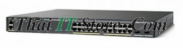 [WS-C2960XR-24PD-I] Catalyst 2960XR 24 port 10/100/1000 POE+ 370W, 2 x 10G SFP+, IP Lite