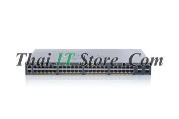 [WS-C2960X-48FPS-L] Catalyst 2960X 48 port 10/100/1000 POE+ 740W, 4 x 1G SFP, LAN Base