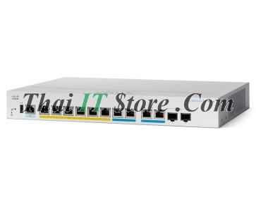 CBS350 Managed 8-port GE, Full PoE, 2x1G Combo