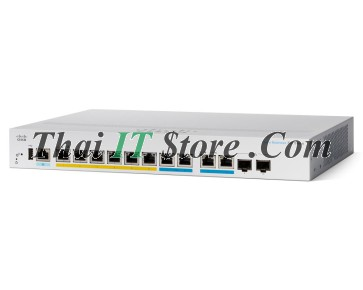 CBS350 Managed 8-port GE, Full PoE, Ext PS, 2x1G Combo