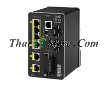 IE-2000-4TS-L | IE 2000 4 Port 10/100, 2x 1FE SFP, LAN Lite