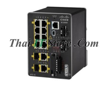 IE 2000 8 FE copper, 2 GE combo uplink with 1588, NAT, Enhanced LAN base