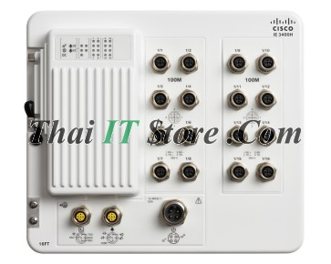 Catalyst IE3400 Heavy Duty, 16 FE M12 interfaces, Network Essentials