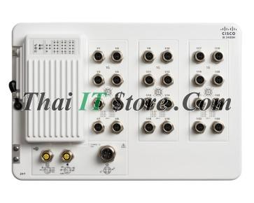 Catalyst IE3400 Heavy Duty, 24 GE M12 interfaces, Network Essentials