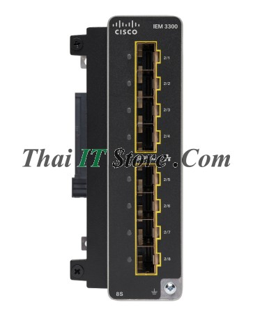 Catalyst IE3300 Rugged 8 Port SFP Fiber Exp Module