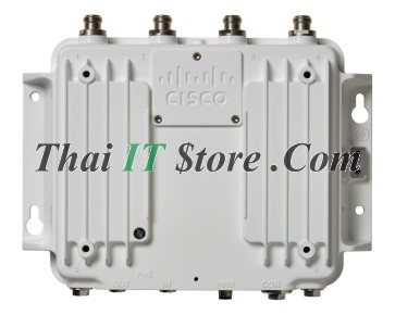 Industrial Wireless AP3702, 4 RF ports on top, S reg domain