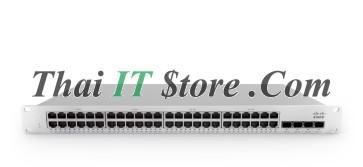 Meraki MS210-48LP 1G L2 Cld-Mngd 48x GigE 370W PoE Switch