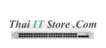 Meraki MS225-48LP L2 Stck Cld-Mngd 48x GigE 370W PoE Switch