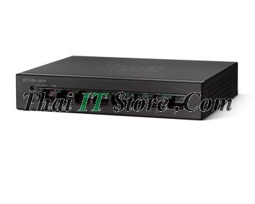Cisco SMB SF110 8 Port 10/100 PoE [SF110D-08HP-EU]