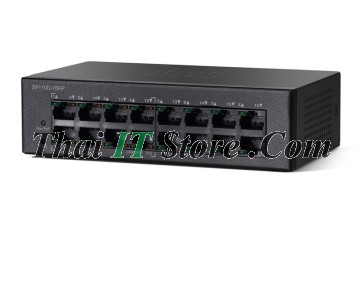 Cisco SMB SF110 16 Port 10/100 PoE [SF110D-16HP-EU]