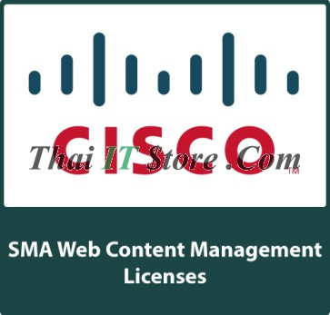 Cisco SMA Web Content Management SW Bundle 1 Year, 100-199 Users [SMA-WMGT-1Y-S1]