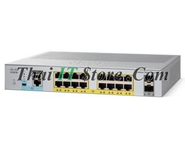 [WS-C2960L-16PS-LL] Cisco Catalyst 2960L 16 port 10/100/1000 Ethernet PoE+ ports, 2 x 1G SFP