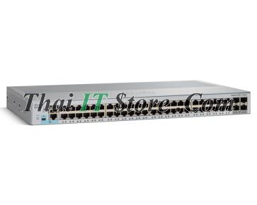 [WS-C2960L-48TS-AP] Cisco Catalyst 2960L 48 port 10/100/1000 Ethernet ports, 4 x 1G SFP