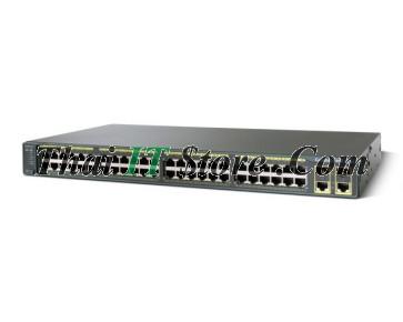 ขาย Cisco Catalyst 2960 Plus 48 Port 10/100 PoE Uplink 2x1GET/SFP LAN Base [WS-C2960+48PST-L] ราคาถูก