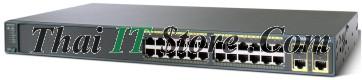 ขาย Cisco Catalyst 2960 Plus 24 Port 10/100 24 PoE Uplink 2T/SFP LAN Base [WS-C2960+24PC-L] ราคาถูก