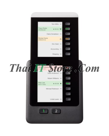 IP Phone 8800 Key Expansion Module, Charcoal