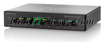 ขาย Cisco SMB SF100 8 Port 10/100 PoE [SF100D-08P-EU] ราคาถูก