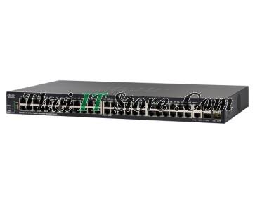 SG350X-48MP 48 Port 10/100/1000 PoE+ 740W, 2x10G SFP/RJ-45, 2x10G SFP