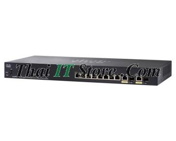 SG355-10P 10 Port 10/100/1000 PoE+ 62W, 2x1GSFP/RJ-45