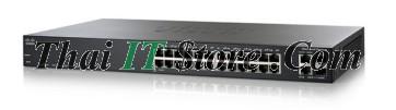 ขาย Cisco SMB SF200 24 Port 10/100 PoE 180W [SF200-24FP-EU] ราคาถูก