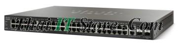 ขาย Cisco SMB SF500 48 Port 10/100 PoE+ 375W w/GE Uplink [SF500-48P-K9-G5] ราคาถูก