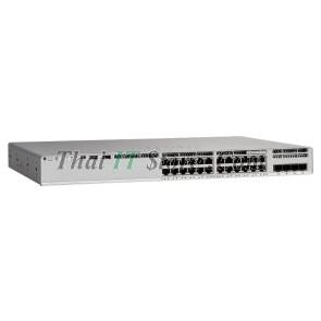 Catalyst 9200L 24-port PoE+ 4x1G uplink Switch, Network Advantage