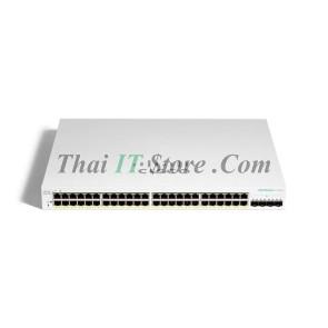 CBS220-48P-4G-EU CBS220-48P 48x 10/100/1000 ports PoE 382W, 4x 1Gigabit SFP