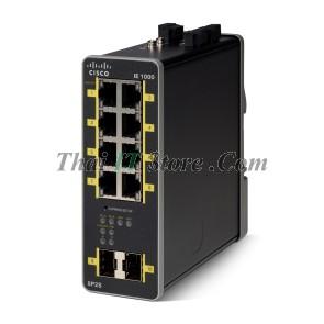 IE-1000 8 Port 10/100 PoE / PoE+, 2x 1G SFP, 48-54V