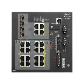 IE-4000 16 x RJ45 10/100M, 4 x 1G Combo, LAN Base