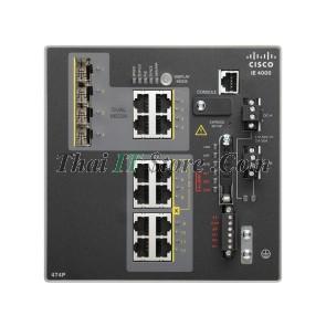 IE-4000 4 x RJ45 10/100M, 4 x PoE 10/100M, 4 x 1G Combo, LAN Base