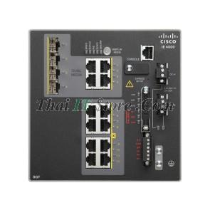 IE-4000 8 x RJ45 10/100/1000, 4 x 1G Combo, LAN Base