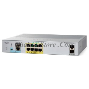 [WS-C2960L-8PS-LL] Cisco Catalyst 2960L 8 port 10/100/1000 Ethernet PoE+ ports, 2 x 1G SFP