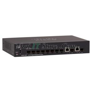 SG350-10SFP 8 Port 10/100/100 SFP, 2x1G SFP/RJ-45